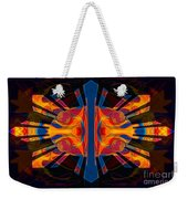 Marking Time Into Space Abstract Spiritual Artwork Weekender Tote Bag