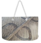 Marks On The Ground Aerial Photography Weekender Tote Bag