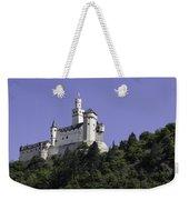 Marksburg Castle 24 Squared Weekender Tote Bag