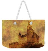 Marksburg Castle In The Rhine River Valley Weekender Tote Bag