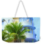 Marlin Hotel Side View Weekender Tote Bag