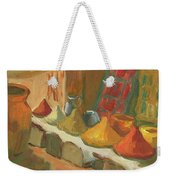 Marrakesh Market Weekender Tote Bag