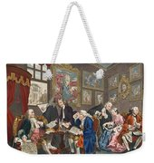 Marriage A La Mode, Plate I, The Weekender Tote Bag