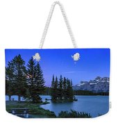 Mars Over Mt. Rundle Weekender Tote Bag