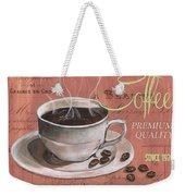 Marsala Coffee 1 Weekender Tote Bag