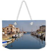 Marseillan Harbour Weekender Tote Bag