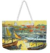 Marseille Harbour Weekender Tote Bag
