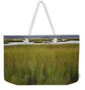Marsh At Milford Point Weekender Tote Bag