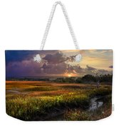 Marsh At Sunrise Weekender Tote Bag