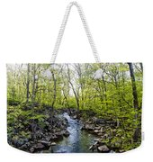 Marsh Creek In Spring Weekender Tote Bag