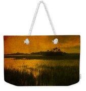 Marsh Island Sunset Weekender Tote Bag