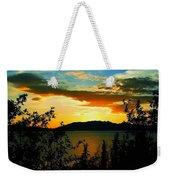 Marsh Lake - Yukon Weekender Tote Bag