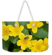 Marsh Marigold Weekender Tote Bag