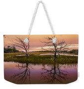 Marsh Oil Painting Weekender Tote Bag
