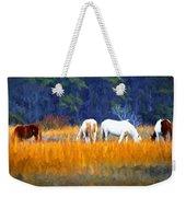 Marsh Ponies Weekender Tote Bag