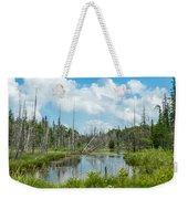 Marsh Scene Weekender Tote Bag