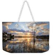 Marsh Sunrise Weekender Tote Bag