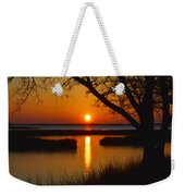 Ocean City Sunset At Old Landing Road Weekender Tote Bag