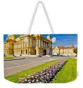 Marshal Tito Square In Zagreb Weekender Tote Bag