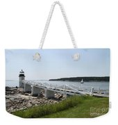 Marshall Point Light Station Weekender Tote Bag