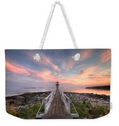 Marshall Point Sunset Weekender Tote Bag