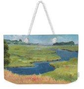Marshes At High Tide Weekender Tote Bag
