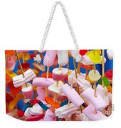Marshmallow Weekender Tote Bag
