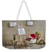 Marshmallow Masterpiece Weekender Tote Bag