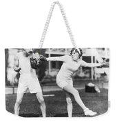 Martha Sleeper Winds Up Weekender Tote Bag