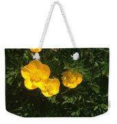 Martha's Flowers Weekender Tote Bag