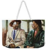 Martin And Rosa Up Front Weekender Tote Bag by Colin Bootman