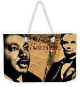Martin Luther King Jr 2 Weekender Tote Bag