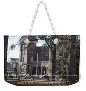 Martin Luther King Jr. And Sixteenth Street Baptist Church Weekender Tote Bag