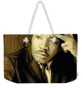 Martin Luther King Jr Artwork Weekender Tote Bag by Sheraz A