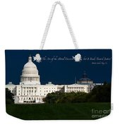 Martin Luther King Jr. Weekender Tote Bag