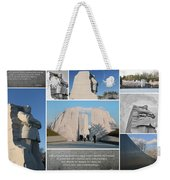 Martin Luther King Jr Memorial Collage 1 Weekender Tote Bag