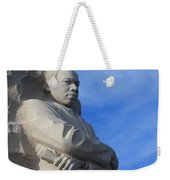 Martin Luther King Jr Monument Detail Weekender Tote Bag