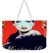 Martini Bar Weekender Tote Bag