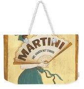 Martini Dry Weekender Tote Bag