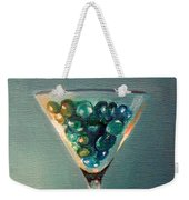 Martini Glass Weekender Tote Bag