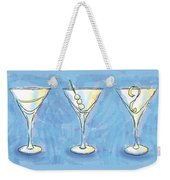 Martini Lunch Weekender Tote Bag