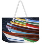 Martinique Boats Weekender Tote Bag