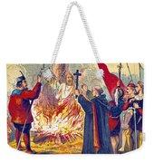 Martyrdom Of Ridley And Latimer, 1555 Weekender Tote Bag