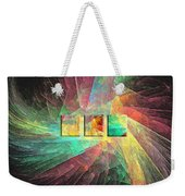 Marucii 237-03-13 Abstraction Weekender Tote Bag