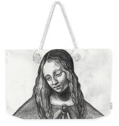 Mary After Davinci Weekender Tote Bag