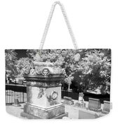 Mary And John Tyler Memorial Near Infrared Black And White Weekender Tote Bag