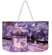 Mary And John Tyler Memorial Near Infrared Lavender And Pink Weekender Tote Bag