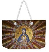 Blessed Virgin Mary And The Child Jesus Weekender Tote Bag