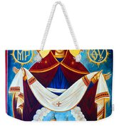 Mary And The Holy Church Weekender Tote Bag