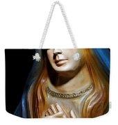 Mary In Manger Weekender Tote Bag